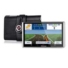 Video-Recorder Navigator Android Gps Bluetooth 7inch Car Sat Wifi DVR 1080p Dual-Lens
