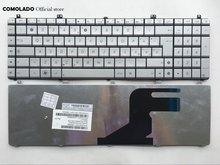 Итальянская Клавиатура для ноутбука asus n55 n55s n55sl n75