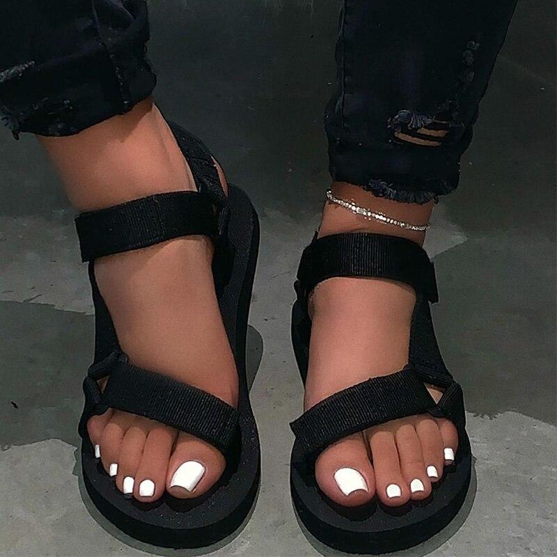 New Women Spring/summer New Soft-slip Non-slip Sandals Foam Sole Durable Sandals Ladies Outdoor Beach Slippers Sandalia Feminina