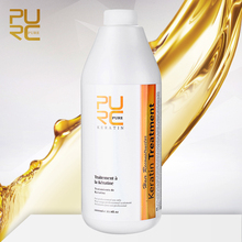 Purc 1000ml Keratin For Curly Frizzy Hair Straightening Smoothing Treatment Brazilian Keratina Scalp Care Haircare Products