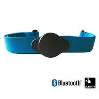 Herz Rate Monitor Brustgurt Bluetooth 4,0 ANT Fitness Sensor Kompatibel Gürtel Wahoo Polar Gar-min Verbunden Im Freien Band