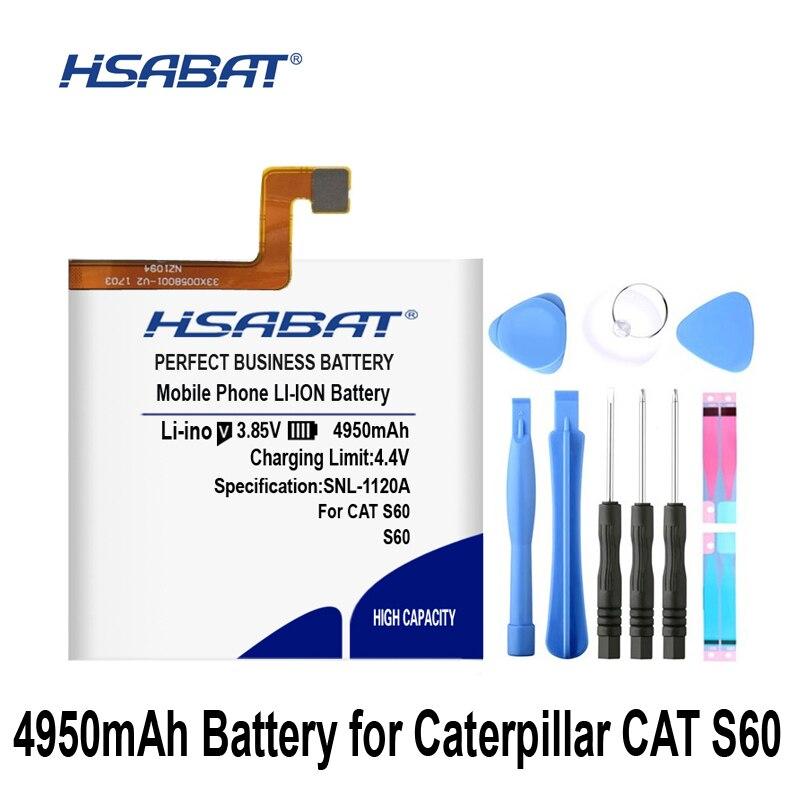 HSABAT 4950mAh For Caterpillar CAT S60 APP-12F-F57571-CGX-111 Battery