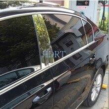 Araba pencere Pillar sonrası koruyucu kapakları Trim krom StainFor Volkswagen VW Passat B7 2011-2016 Passat B8 2017-2020