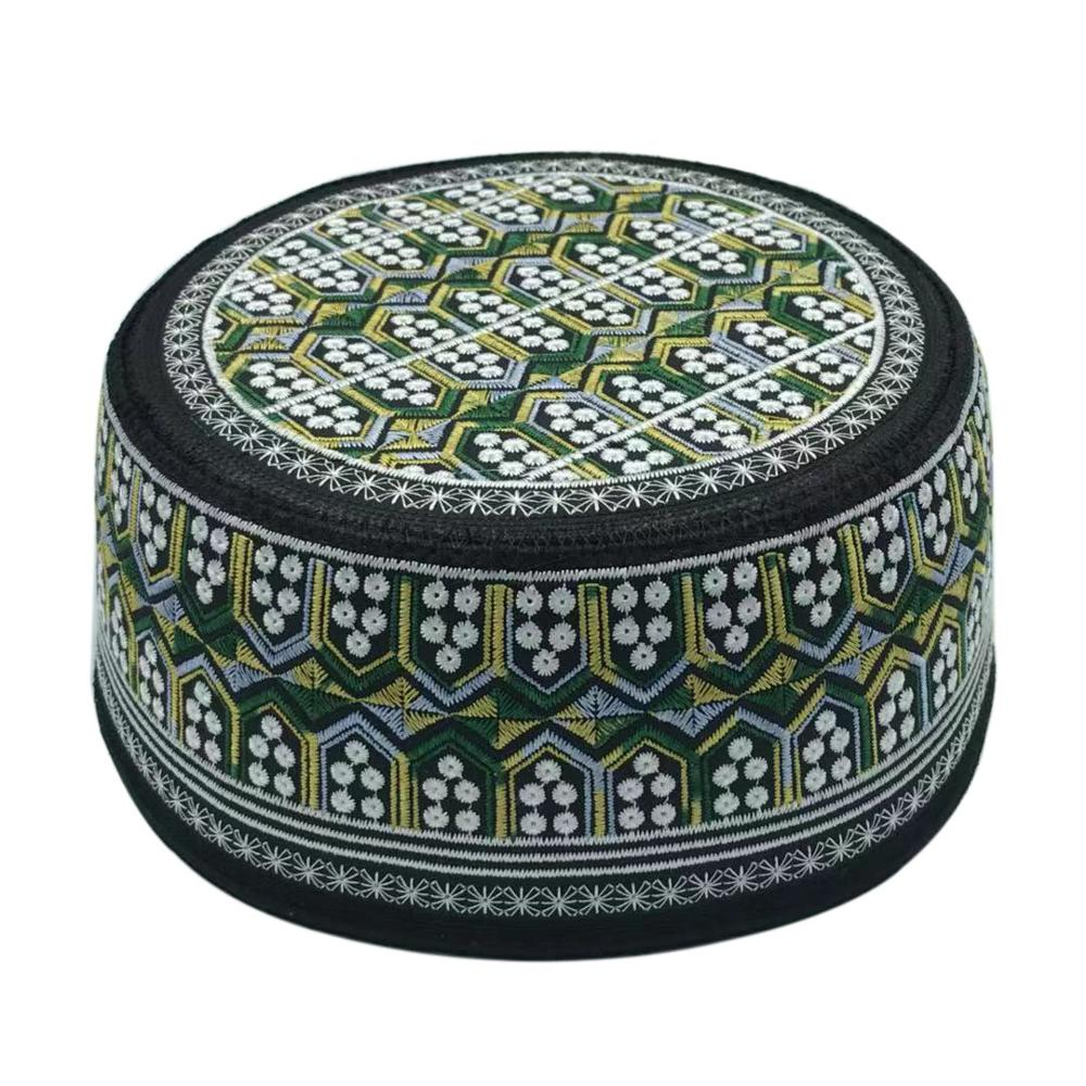 Arabic India Muslim Hat Islamism Muslim Hat Islam Hat Kippa Embroidery Prayer Jewish Hat Muslim Goods Saudi Arabia Hats For Men