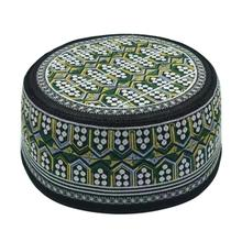 Muslim Hat Islam-Hat Goods India Arabic Kippa Prayer for Men Embroidery