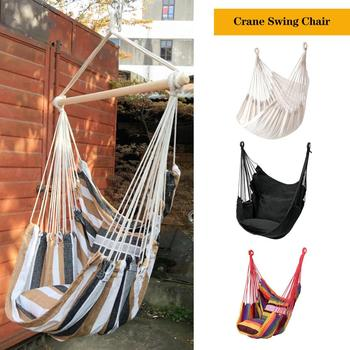 Hammock with spreader bar Double/Single Garden swing Sleeping bed Portable Outdoor Camping Garden hanging chair outdoor swing chair sleeping bed hammock leisure hanging daybed with canopy for adults