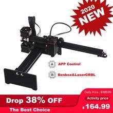 2020 nouveau NEJE maître 2 7W Bluetooth Laser graveur Cutter Mini Laser gravure bois Machine de découpe pour Windows, Mac , Android