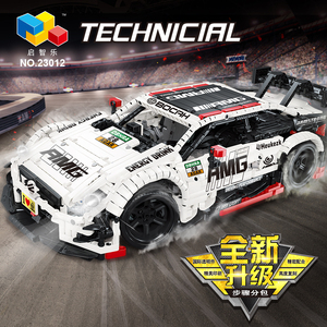 Image 5 - Compatible with Technic Series Remote Control Benzs AMGS C63 DTM MOC 6687 RC Car Model Building Blocks Bricks Toys For Kids Gift