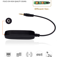 Kript Aux Audio Noise Filter Ground Loop Isolator Eliminate Car Electrical Noise Killer with  3.5mm Audio Cable for Home Stereo
