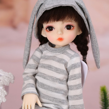 BambiCrony Vanilla BJD SD Resin Doll 1/6 Body Model Girls Boys Toys Eyes High Quality Gifts For Birthday Or Christmas 1