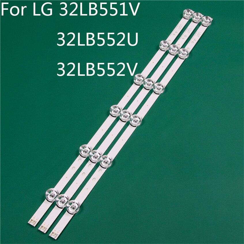 LED TV Illumination Part Replacement For LG 32LB551V-ZC 32LB552U-ZA 32LB552V-ZA LED Bar Backlight Strip Line Ruler DRT3.0 32 A B