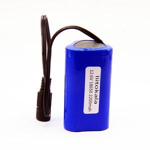 Image 3 - HK LiitoKala 12V 2200mah 3000mAh 6800mah 9800mah 10ah 18650 Li lon DC 12V Super Rechargeable Battery Pack  rechargeable battery