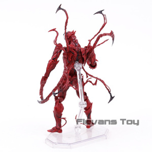 Image 4 - Marvel Revoltech Series NO.008 Carnage Deadpool Spiderman Gwen Stacy Venom Wolverine Magneto Captain America Action Figure Toy
