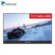 17.3 inç 120Hz 144Hz taşınabilir bilgisayar monitörü PC 1920x1080 HDMI 1080P IPS WLED bilgisayar oyun ekran yüksek hertz 120Hz