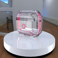 Transparent TPU earpods case for apple air pods pro 1 coque airpods 2 cover Fall
