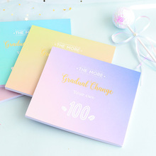 купить 36K Weekly Planner 2019 2020 Diary 100 Day Plan Monthly Gird Color Notebook Paper Boy Girl Student Office School Supplies Gift дешево