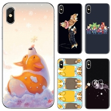 Soft TPU Case Corgi Welsh Corgi dog puppy Collage For iPhone iPod Touch 11 12 Pro 4 4S 5 5S SE 5C 6 6S 7 8 X XR XS Plus Max 2020