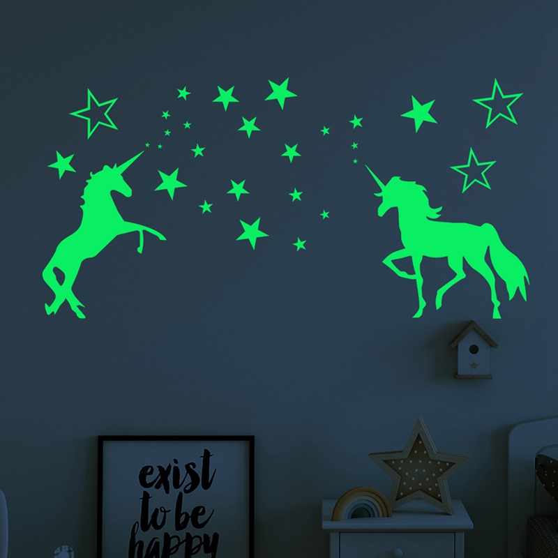 Mega Discount Glow In The Dark Stars Wall Stickers For Kids