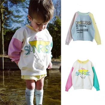 Beau Loves Fashion Toddler Sweatshirt Baby Hoodie Boys Girls Long Sleeve Loose Tops Brand Kids Tops Fall Winter Baby Pullover