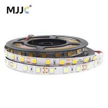 цены на 12V LED Tape SMD 5054 60LEDs/M 5M LED Strip Light 12V DC Waterproof Flexible Stripe Ribbon Warm White Indoor Decoration Lighting  в интернет-магазинах