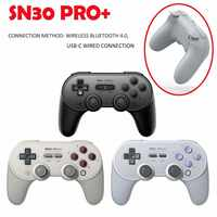 New 8 Bitdo Bluetooth Concrtoller For Sn30 Pro+ Wireless Gamepad Regularly Update Firmware Professional Game Accessories