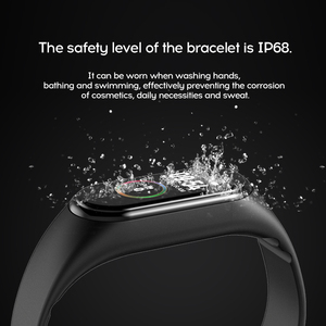 Image 3 - M4 Smart Wristband Fitness Tracker Watch Sport bracelet Heart Rate Blood Pressure Monitor Health Watch Smartband For Android iOS