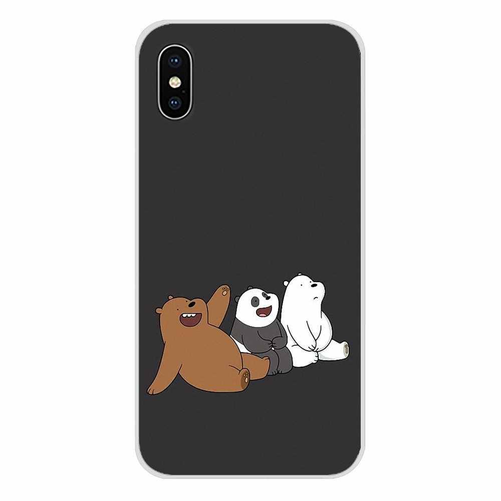 Do ZTE ostrze A5 2019 V6 V7 V8 Lite V9 V10 A 452 510 512 520 530 602 610 910 zabawki z kreskówek niedźwiedzie braci etui na telefony komórkowe obejmuje