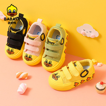 Babaya Spring Infant Toddler Shoes Baby Girls Boys Canvas Shoes Soft Bottom Non-slip Outdoor Children Casual Shoes Kids Sneakers ulknn summer baby girls boys sandals children beach sandals soft bottom non slip infant shoes kids outdoor sport shoes