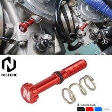 NICECNC – kit de vis de réglage de vitesse de ralenti, pour carburateur de vtt, pour Yamaha Raptor 700R 2012 – 2020 Raptor 700 2006 2011 700 2013