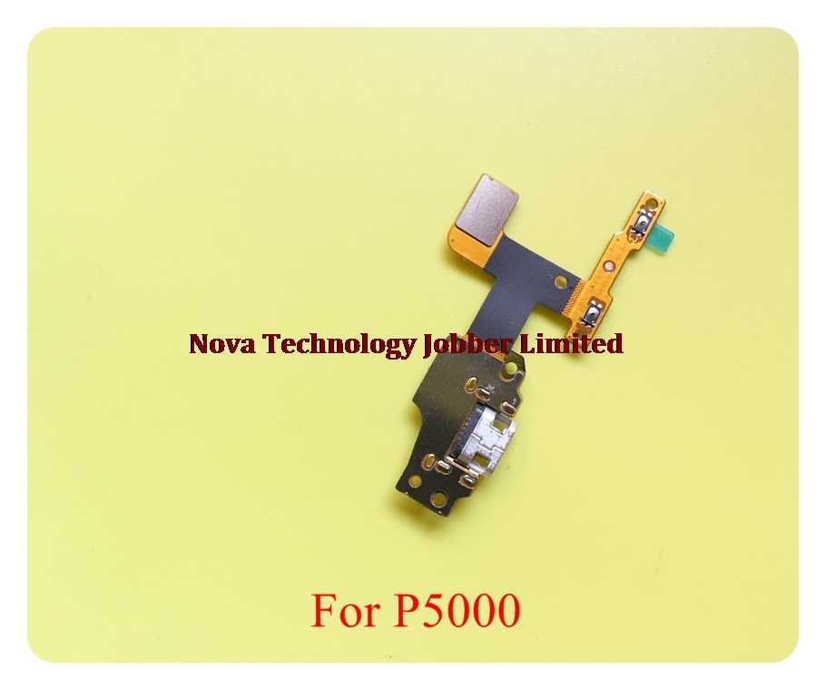 Para lenovo yoga tab 3 YT3-X50L p5100 v3.0 micro porto de carregamento conector usb doca carregador volume para cima baixo conectar cabo flexível faixa