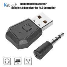 Adaptador usb bluetooth transmissor para ps4 playstation bluetooth 5.0 fones de ouvido receptor dongle