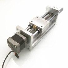 170Mm Trục Z Trượt Du Lịch CNC ROUTER Chuyển Động Thẳng Bộ Cho Reprap 3D Máy In CNC Không/Có Động Cơ (Thứ Hai Tay NEMA17stepper)
