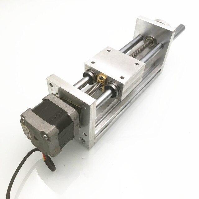Дорожный ЧПУ роутер с перемещением по оси Z, 170 мм, комплект линейного движения для 3D принтера Reprap, ЧПУ, без/с двигателем (секундный шаг NEMA17stepper)