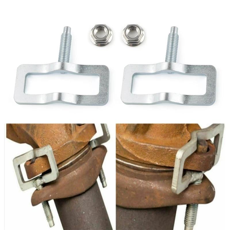 exhaust manifold stud clamp repair kit hush for studfix 8001 for ford truck v8 v10