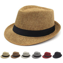 Панама в британском стиле для мужчин и женщин шляпа от солнца