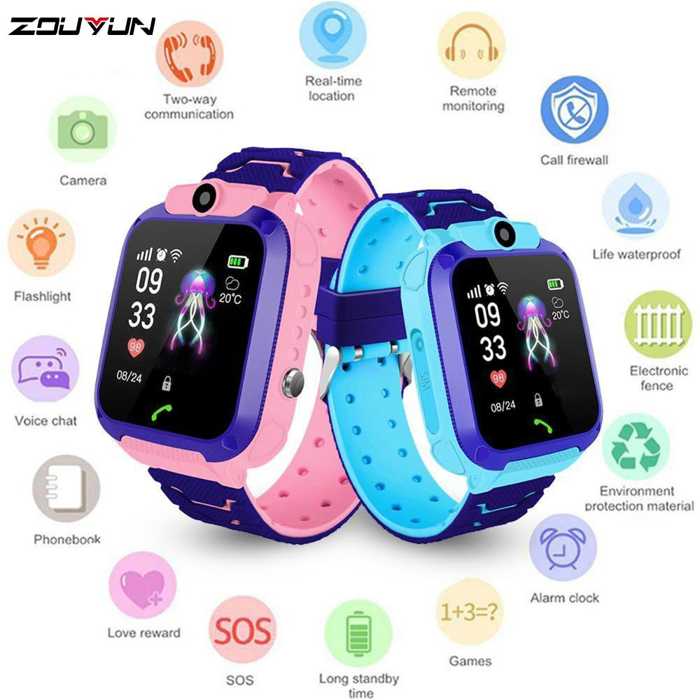 Детские умные часы, детские часы для телефона, умные часы для мальчиков и девочек с sim-картой, водонепроницаемые, IP67, подарок для IOS Android
