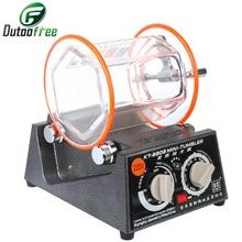 110V/220V Jewelry Polishing Machine With Drum Mini Polishing Tumbler Rotary Polisher Jewelry Polisher Cpacity 3KG 5 Speed