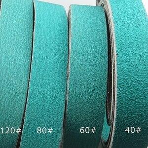 Image 3 - 4 pieces 2000*50mm Zirconia Alumina 577F Abrasive Sanding Belts Knife Sharpener Tool 40# 60# 80# 120# Assorted