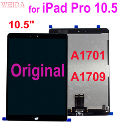Оригинальный ЖК-для iPad Pro 10,5 A1701 A1709 ЖК-дисплей сенсорный экран стекло дигитайзер полная сборка Замена iPad Pro 10,5 LCD