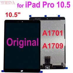 LCD Original para iPad Air, iPad Pro 10,5 A1701 A1709 pantalla LCD pantalla táctil de cristal digitalizador montaje completo de iPad Pro 10,5 Lcd