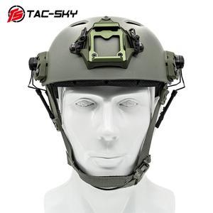 Image 5 - TAC SKY arco capacete ferroviário suporte rápido ops núcleo adaptador ferroviário capacete tático fone de ouvido peltor comtac i ii iii iv suporte tático