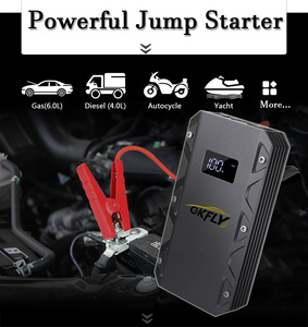 Image 3 - GKFLY Emergency 1500A Starting Device 20000mAh 12V Car Jump Starter Power Bank Petrol Diesel Car Charger for Car Battery Booster