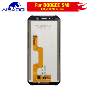 Image 3 - New original Touch Screen LCD Display LCD Screen For DOOGEE S40 Replacement Parts + Disassemble Tool+3M Adhesive