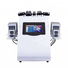 Multifunctional Liposuction Machine 40k Cavitation Slimming Machine Salon Use RF Cavitation Body Slimming Beauty Machine vacuum rf skin care salon spa equipment 40k ultrasonic liposuction cavitation 8 pads