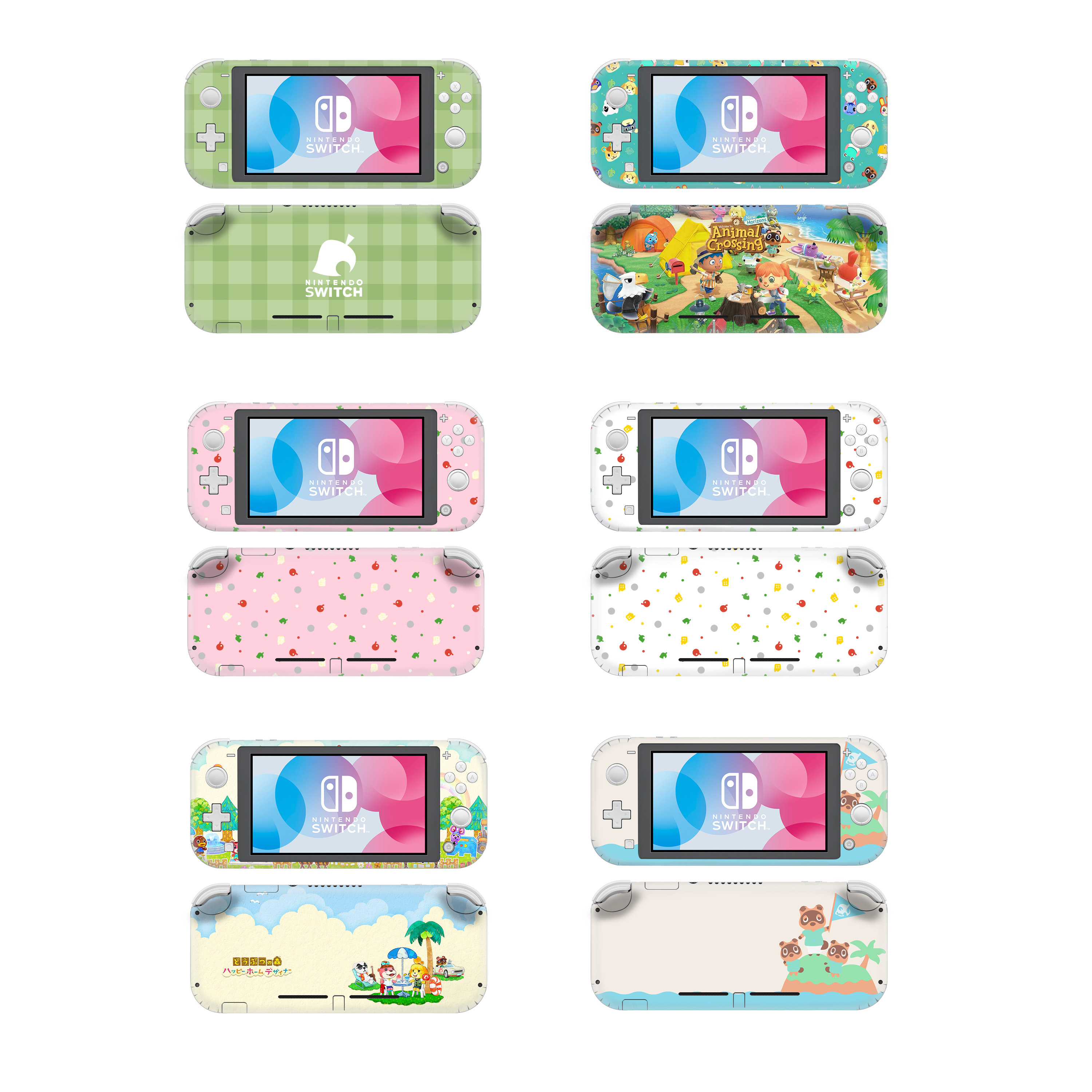 Animal Crossing Protective Screen Skin Protector Stickers For Nintendo Switch Lite Ns Mini Console Nintend