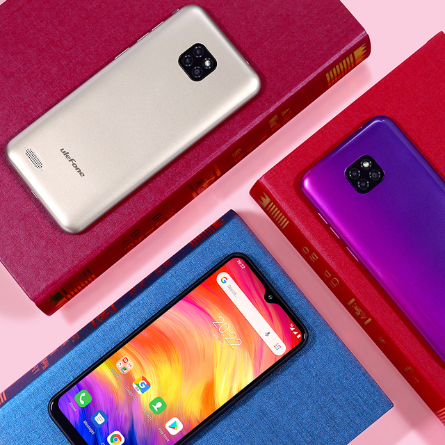 Ulefone Note 7 Smartphone 3500mAh 19:9 Quad Core 6.1inch  Waterdrop Screen 16GB ROM Mobile phone WCDMA Cellphone  Android9.0 2