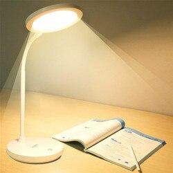 Estudo grande lâmpada de mesa portátil lâmpada de mesa led usb recarregável 1200 mah bateria-alimentado lâmpada de leitura candeeiros de mesa 3 cores