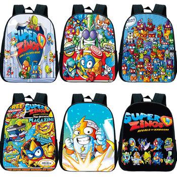 Gorąca sprzedaż Super Zings plecak dla dzieci Cartoon plecak Superzings plecak przedszkolny dla dzieci torby przedszkolne Mochila 12 cali tanie i dobre opinie Gryan NYLON CN (pochodzenie) wytłoczone Unisex Miękka osłona Poniżej 20 litrów Wewnętrzny przedziałek miękki uchwyt