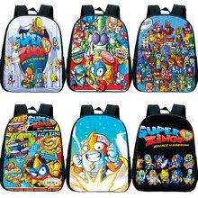 Gorąca sprzedaż Super Zings plecak dla dzieci Cartoon plecak Superzings plecak przedszkolny dla dzieci torby przedszkolne Mochila 12 cali tanie tanio Gryan NYLON CN (pochodzenie) Tłoczenie Unisex Miękka Poniżej 20 litr Wnętrza przedziału Miękki uchwyt NONE zipper
