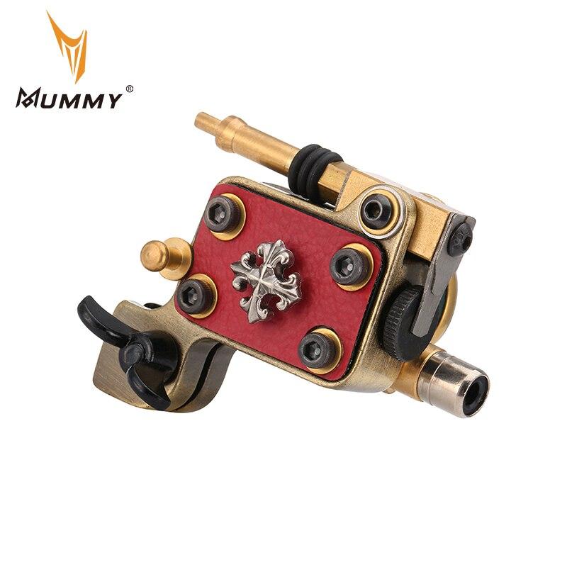 Ротационная машинка для татуировок мам, японский двигатель, рама из алюминиевого сплава, RCA соединение с машинкой для татуировок RCA